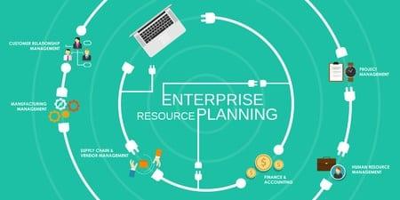 Programme unique, l'ERP permet de relier tous les secteurs de l'entreprise et de faciliter leur gestion