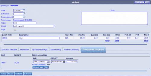 logiciels de comptabilité open source