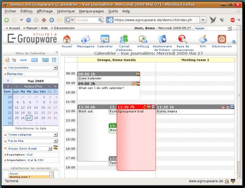 eGroupWare (logiciels de gestion de projet)