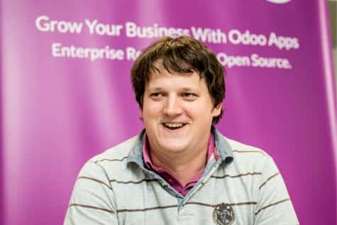 Fabien Pinckaers, le fondateur d'Odoo