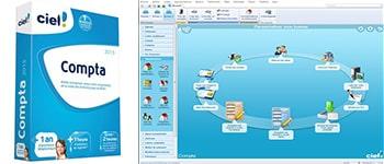 Module comptabilité du logiciel Ciel