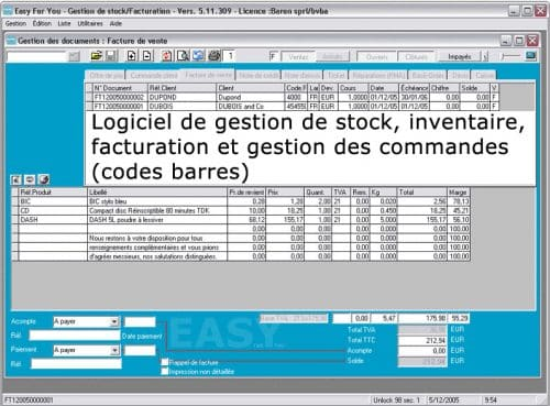 Easy for You, logiciels de facturation gratuits