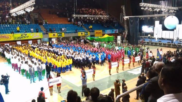 Atout Persona partenaire CJSOI, cérémonie d'ouverture